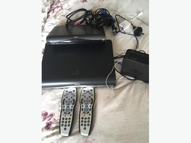 Two Sky +HD boxes