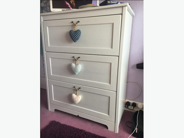 competitive price 8f8db bb74a  Log In needed £25 · Ikea Aspelund white chest of drawers x2