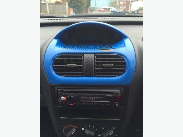 Car Radio & Carbon Wrapped dash for sale