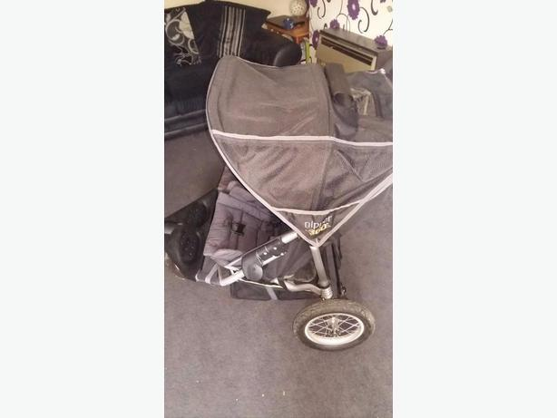Double pushchair. Nipper 360