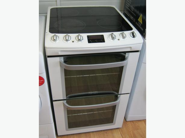 Electrolux 55cm Electric Cooker, Ceramic Hob, Fan Oven, 6 Month Warranty