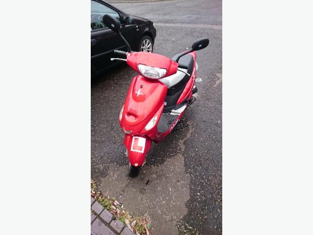 pulse 50cc scooter