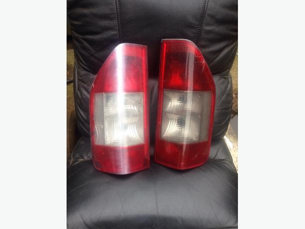 MERCEDES SPRINTER REAR LIGHTS