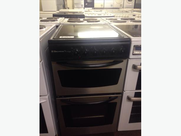 ELECTROLUX 50CM DOUBLE OVEN ELECTRIC COOKER1
