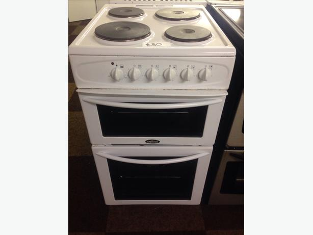 50CM BELLING PLATED TOP ELECTRIC COOKER0