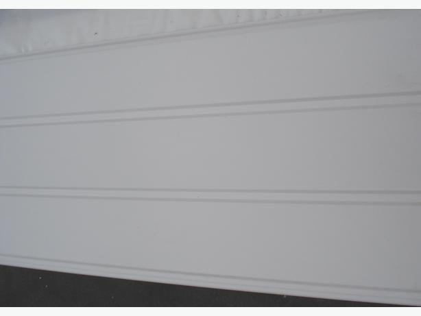 £7.80 - UPVC Hollow Soffit/Cladding 300mm x 9mm x 5 mtr
