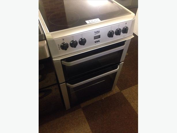 60CM BEKO DOUBLE OVEN ELECTRIC COOKER02