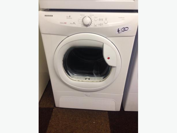 HOOVER 9KG CONDENSER DRYER01