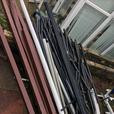 100 guttering pipes for £90 bargain £1 each