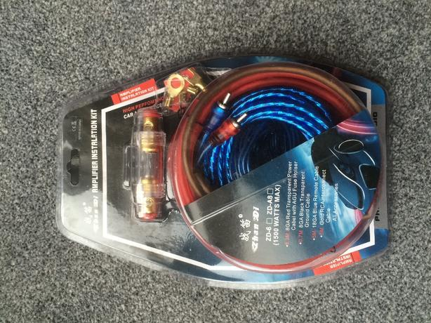 **NEW** 5 metre sub and amp wiring kit