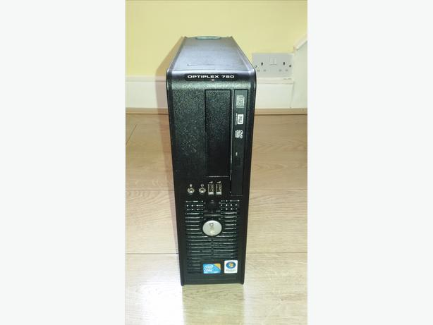 Dell 780 PC/Tower - 4 GB RAM - 160GB HDD - Windows 7 + Antivirus + Office