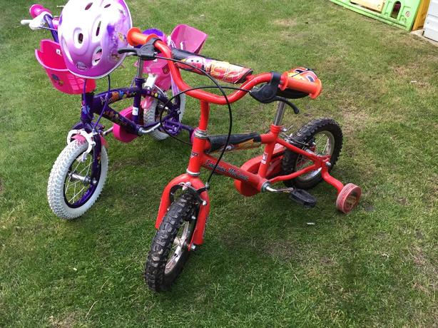 "boys 12"" lightening McQueen bike"