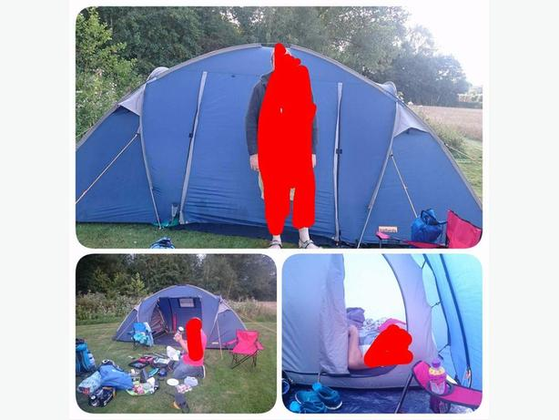 halfords 4 man tent