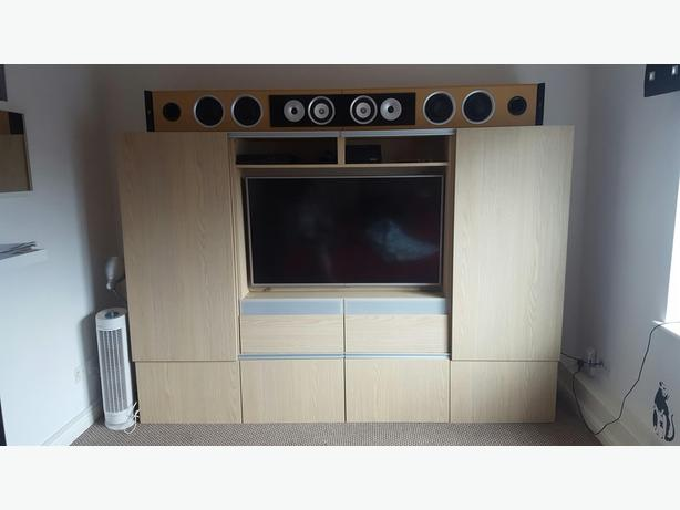 Large Ikea TV unit for sale