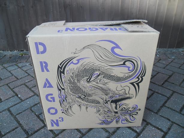 New White Dragon gaming pc