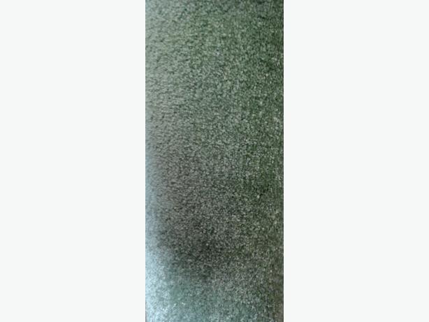 Green rubber back carpet