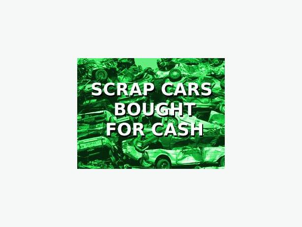 WANTED: WANTED: ALL SCRAP VEHICLES