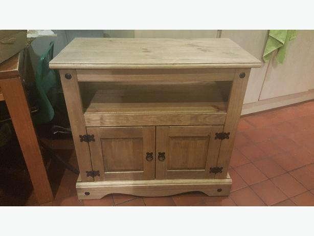 solid wood tv video cabinet