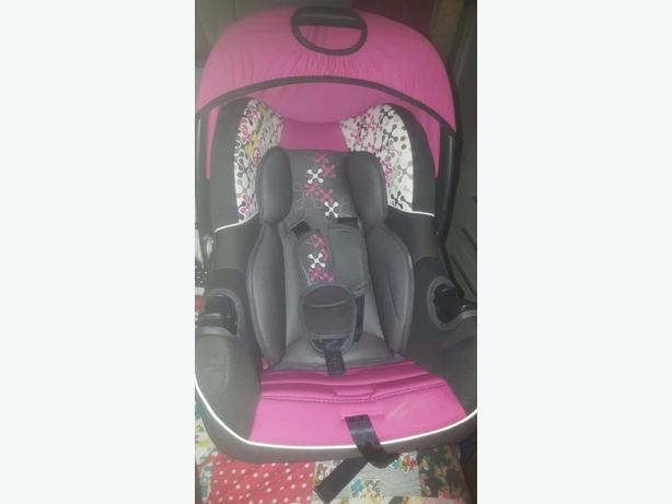 Girls car chair