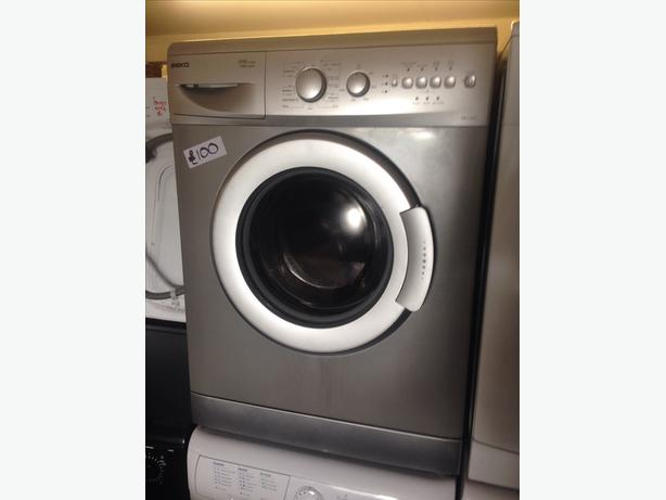 5KG BEKO WASHING MACHINE SILVER