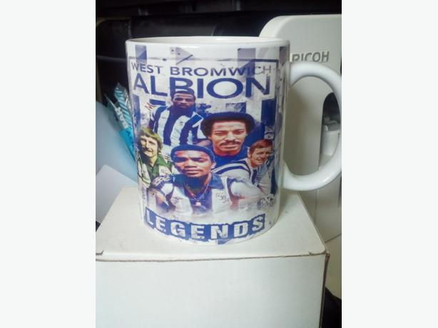 WBA Legends Mug Brand New & Boxed