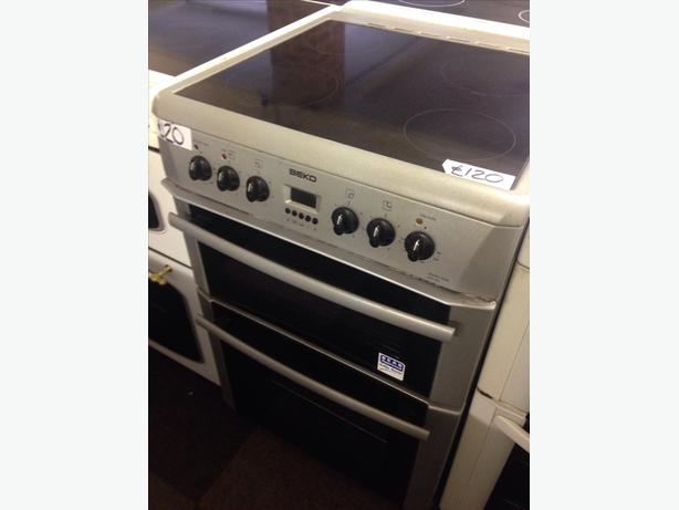 BEKO DOUBLE OVEN FAN ASSISTED ELECTRIC COOKER