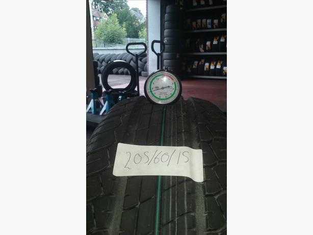 part-worn tyre