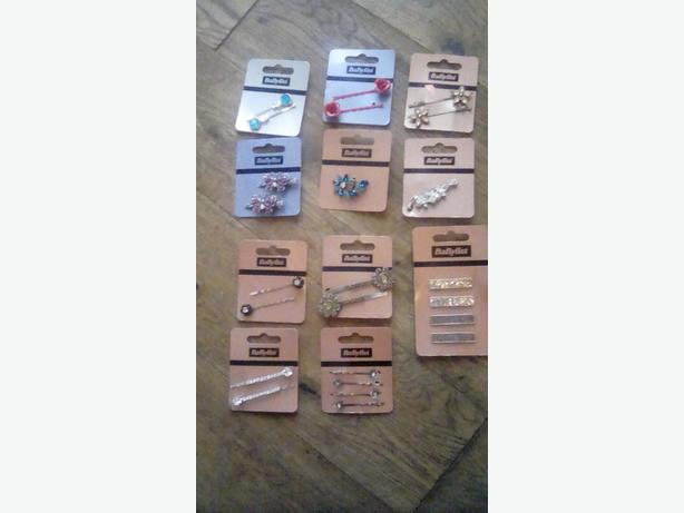 Joblot babyliss hair bobbles,clips and pins