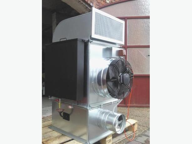 Waste oil heater burner blow air heating 30 kW