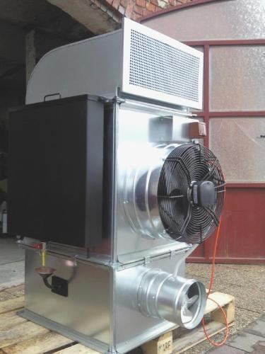 Waste oil heater burner blow air heating 30 kw west for Heater that burns used motor oil