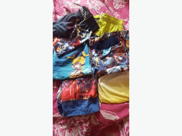 boys 11-12 years swim shorts bundle...marvel minions