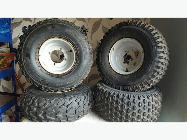 apache 100 wheels an tyre's .95 . 07446540192