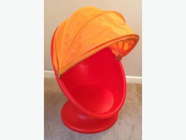 IKEA swivel egg chair NWOT