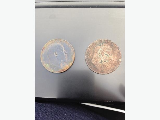 1905 and 1910 Penny