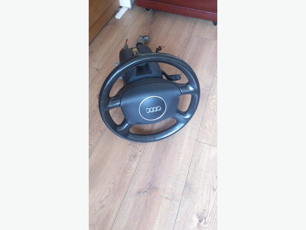 AUDI A4 STEERING WHEEL WITH AIRBAG FOR 2001 TO 2004 AUDI A4