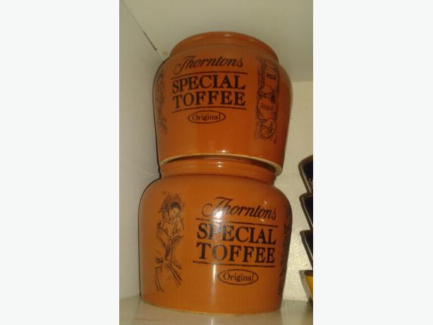 thornton special toffee jars