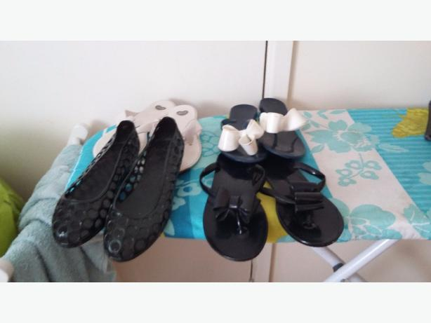 size 4 bundle of ladies shoes