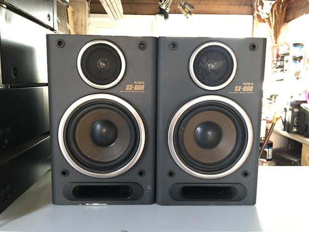 AIWA SX-800 Speakers