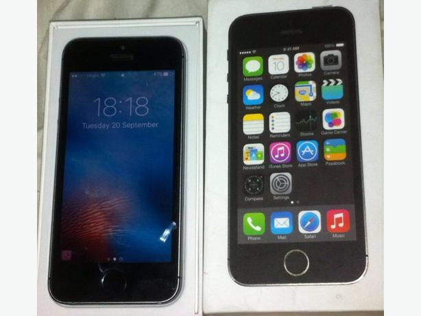 Iphone 5s 32gb unlcoked boxed