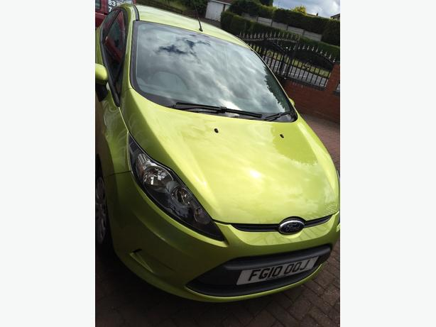 Ford fiesta 1.4 TDCi edge