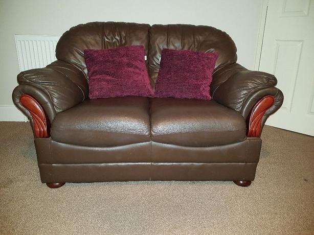 FREE: leather sofas