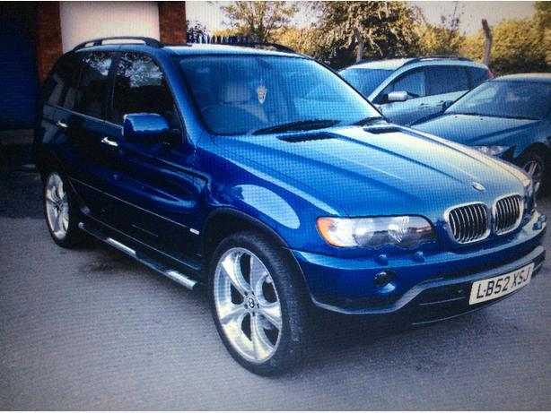 2002 B M W  X5 Diesel