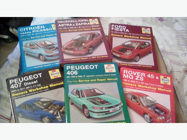 Haynes manual books