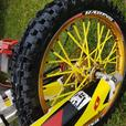 Suzuki RM 85 . TRICK SMALL WHEEL 2012 ,not yz,cr,kx,85,