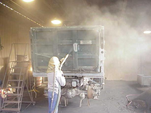 Shot blasting an coating specilists