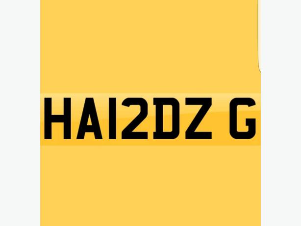Private Number Plate Initials Surname Cherished FEES PAYED BMW / VW / Audi / AMG