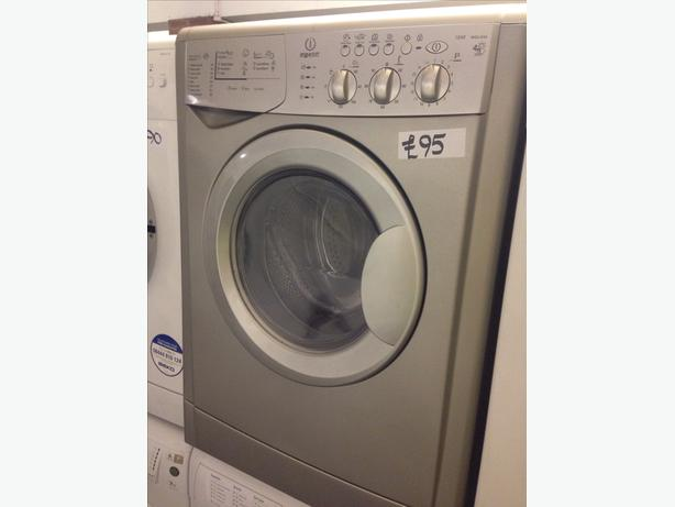 4KG SILVER INDESIT WASHER DRYER09
