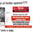Boiler Spares / Parts