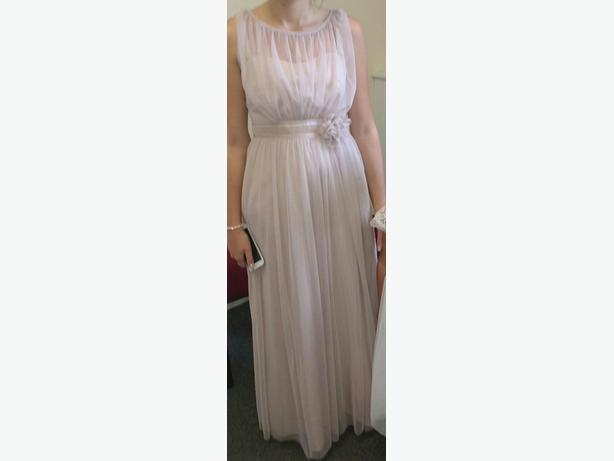 ladies bridesmaid dress size 10