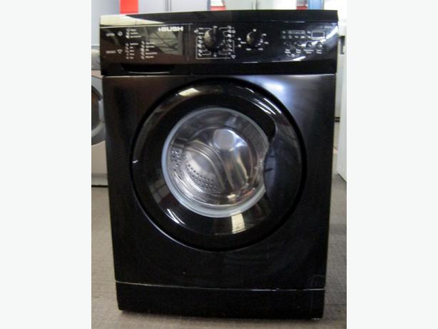 Bush 1400 Spin Black Washing Machine, 6kg Capacity, 6 Month Warranty
